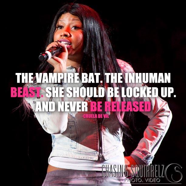 Nicki Minaj + Cruela Deville